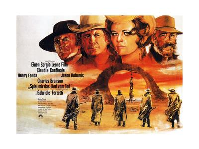 Once Upon a Time in the West, (AKA C'Era Una Volta Il West, Aka Spiel Mir Das Lied Vom Tod), 1968 Giclee Print