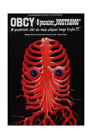 Alien, Polish Poster, 1979 Giclee Print