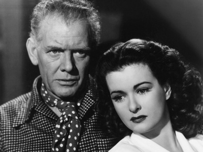 The Woman on the Beach, from Left: Charles Bickford, Joan Bennett, 1947 Photo