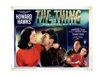 The Thing from Another World, from Left: Margaret Sheridan, Kenneth Tobey, 1951 Giclee Print