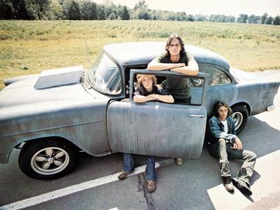 Two-Lane Blacktop, Laurie Bird, James Taylor, Dennis Wilson, 1971 Photo