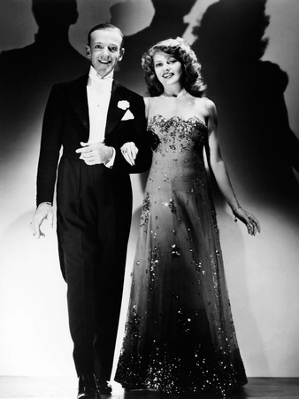 You Were Never Lovelier, from Left: Fred Astaire, Rita Hayworth, 1942 Photo