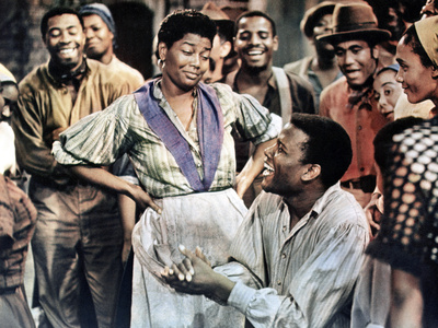 Porgy and Bess, Pearl Bailey, Sidney Poitier, 1959 Photo