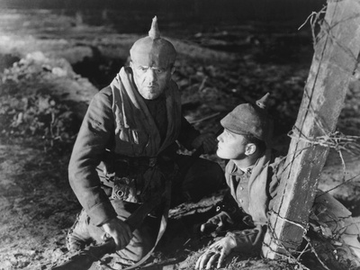 All Quiet on the Western Front, from Left: Louis Wolheim, Lew Ayres, 1930 Photo