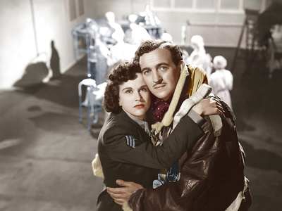 A Matter of Life and Death, (AKA Stairway to Heaven), from Left: Kim Hunter, David Niven, 1946 Photo