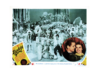Ziegfeld Girl, Lower Right, Jackie Cooper, Judy Garland, 1941 Giclee Print