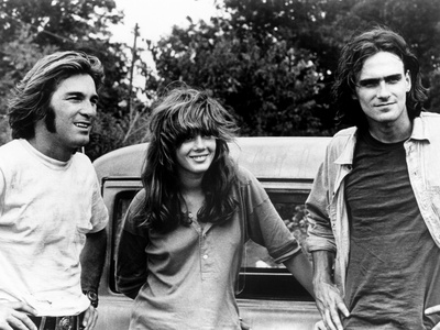 Two-Lane Blacktop, Dennis Wilson, Laurie Bird, James Taylor, 1971 Photo