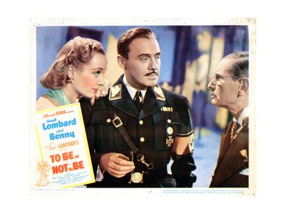 To Be or Not to Be, from Left: Carole Lombard, Jack Benny, Charles Halton, 1942 Giclee Print