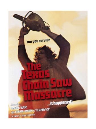 The Texas Chainsaw Massacre, 1974 Giclee Print
