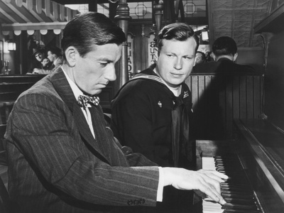 The Best Years of Our Lives, from Left: Hoagy Carmichael, Harold Russell, 1946 Photo