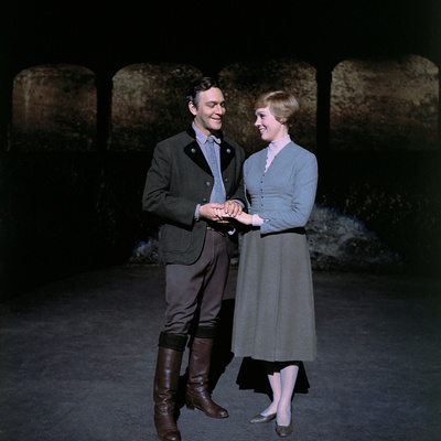 The Sound of Music, from Left: Christopher Plummer, Julie Andrews, 1965 Photo