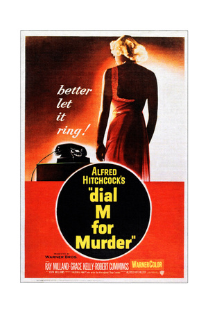 Dial M for Murder, Grace Kelly, 1954 Giclee Print