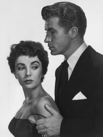 The Girl Who Had Everything, from Left: Elizabeth Taylor, Fernando Lamas, 1953 Photo