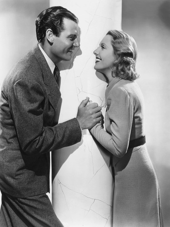 Adventure in Manhattan, from Left: Joel Mccrea, Jean Arthur, 1936 Photo