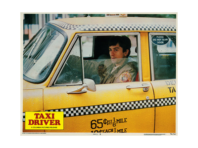 Taxi Driver, Robert De Niro, 1976 Giclee Print