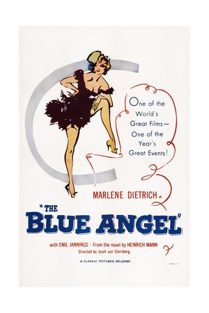 The Blue Angel, (AKA Der Blaue Engel), Marlene Dietrich, 1930 Giclee Print