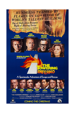 The Towering Inferno, 1974 Giclee Print