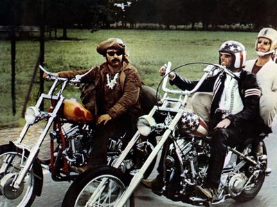 Easy Rider, from Left: Dennis Hopper, Peter Fonda, Jack Nicholson, 1969 Photo