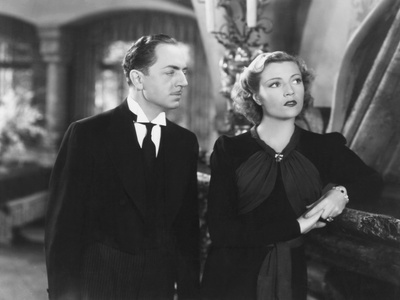 The Baroness and the Butler, from Left: William Powell, Annabella, 1938 Photo