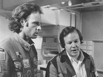Silent Running, from Left: Bruce Dern, Director Douglas Trumbull on Set, 1972 Photo