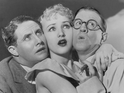 The Nitwits, from Left: Bert Wheeler, Betty Grable, Robert Woolsey, 1935 Photo