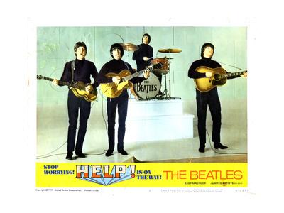 Help, from Left:Paul Mccartney, George Harrison, Ringo Starr, John Lennon, 1965 Giclee Print