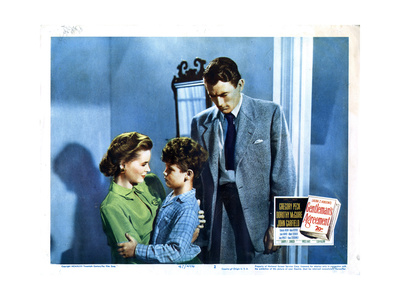 Gentleman's Agreement, from Left, Dorothy Mcguire, Dean Stockwell, Gregory Peck, 1947 Giclee Print