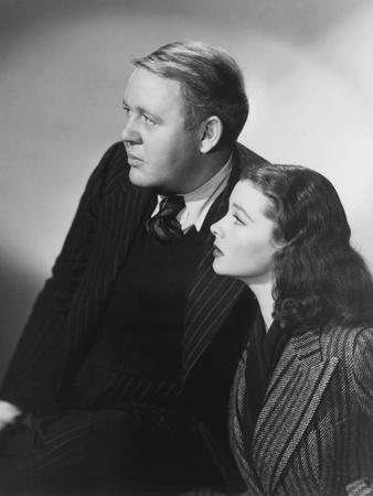 Sidewalks of London, (AKA St. Martin's Lane), from Left: Charles Laughton, Vivien Leigh, 1938 Photo