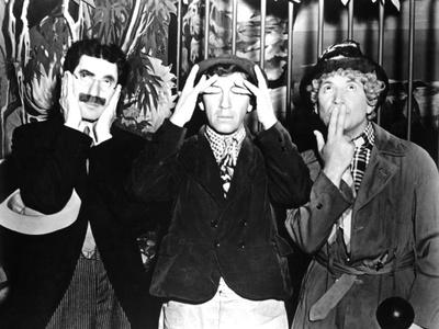 Monkey Business, from Left: Groucho Marx, Chico Marx, Harpo Marx, 1931 Photo