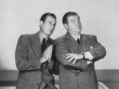 The Time of their Lives, from Left: Bud Abbott, Lou Costello, 1946 Photo