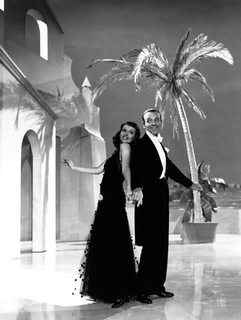 You Were Never Lovelier, from Left: Rita Hayworth, Fred Astaire, 1942 Photo