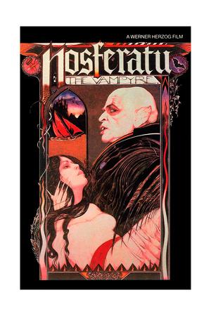 Nosferatu: Phantom Der Nacht, from Left: Isabelle Adjani, Klaus Kinski, 1979 Giclee Print