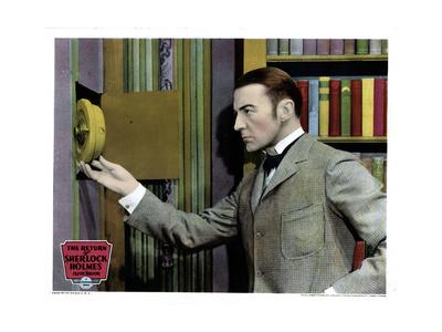 The Return of Sherlock Holmes, Clive Brook, 1929 Giclee Print