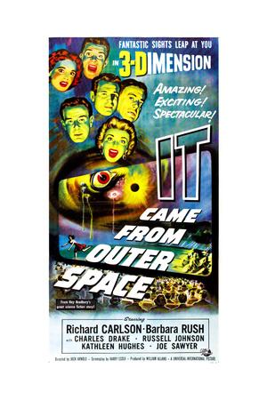 It Came from Outer Space, Barbara Rush, Richard Carlson, Charles Drake, Kathleen Hughes, 1953 Giclee Print