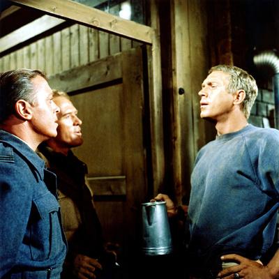 The Great Escape, Richard Attenborough, Gordon Jackson, Steve Mcqueen, 1963 Photo