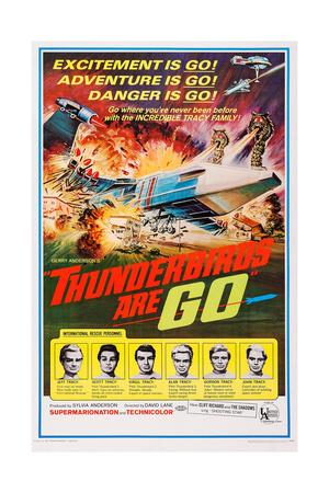Thunderbirds are Go, 1966 Giclee Print