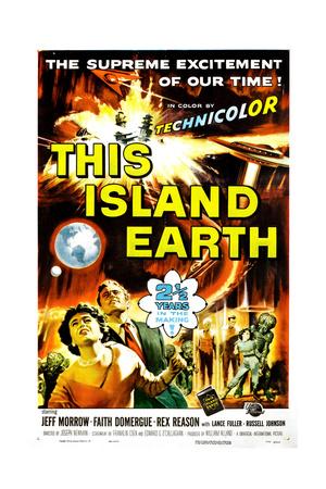 This Island Earth, Faith Domergue, Rex Reason, Jeff Morrow, 1955 Giclee Print