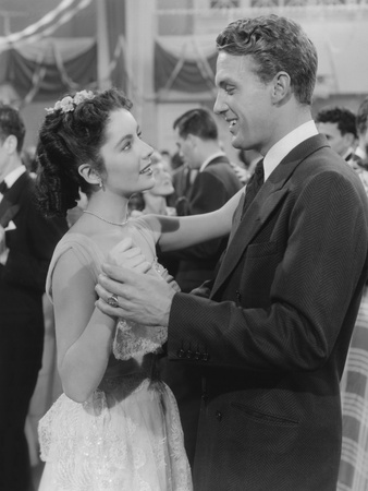 A Date with Judy, from Left: Elizabeth Taylor, Robert Stack, 1948 Foto