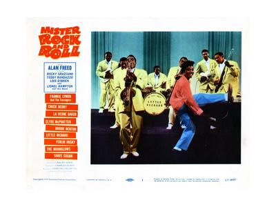 Mister Rock and Roll, Little Richard, 1957 Giclée-tryk