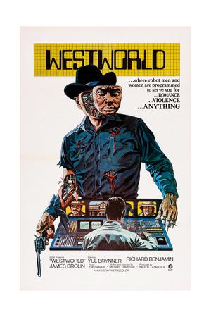 Westworld, Yul Brynner, 1973 Giclee Print