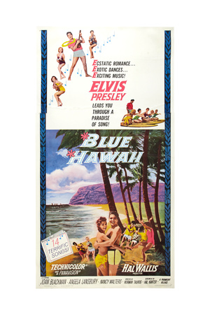Blue Hawaii, Elvis Presley, 1961 Giclee Print