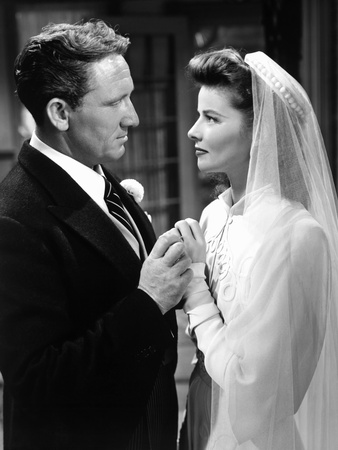 Woman of the Year, Spencer Tracy, Katharine Hepburn, 1942 Photo