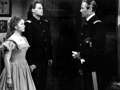 Fort Apache, Shirley Temple, John Agar, Henry Fonda, 1948 Photo