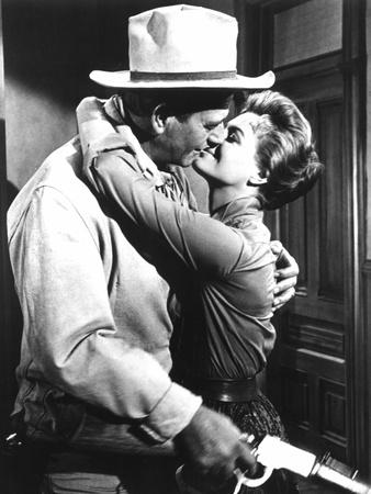 Rio Bravo, John Wayne, Angie Dickinson, 1959 Photo