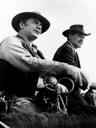 The Wild Bunch, from Left: Ernest Borgnine, William Holden, 1969 Photo