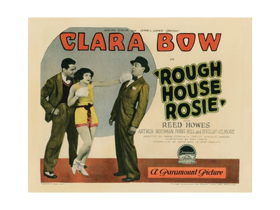 Rough House Rosie, Reed Howes (Left), Clara Bow (Center), 1927 Giclee Print