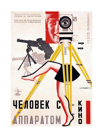 The Man with a Movie Camera, 1929 Giclee Print