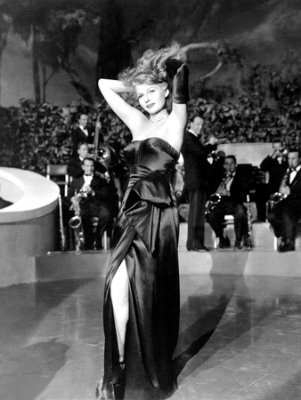 Gilda, Rita Hayworth, 1946, 'Put the Blame on Mame' Photo