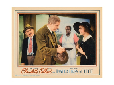 Imitation of Life, from Left: Henry Armetta, Alan Hale, Louise Beavers, Claudette Colbert, 1934 Giclee Print