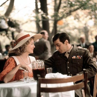 The Godfather, Diane Keaton, Al Pacino, 1972 Photo